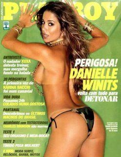Danielle Winits nua na Playboy