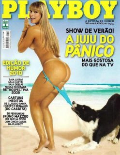 Juju Salimeni pelada na revista Playboy