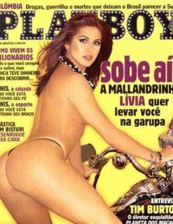 Lívia Andrade nua na revista Playboy